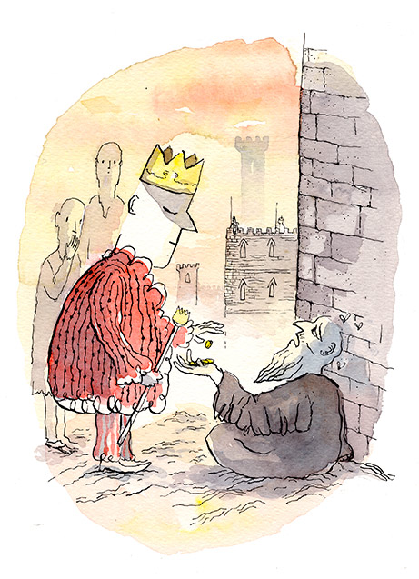 El Rey el mendigo