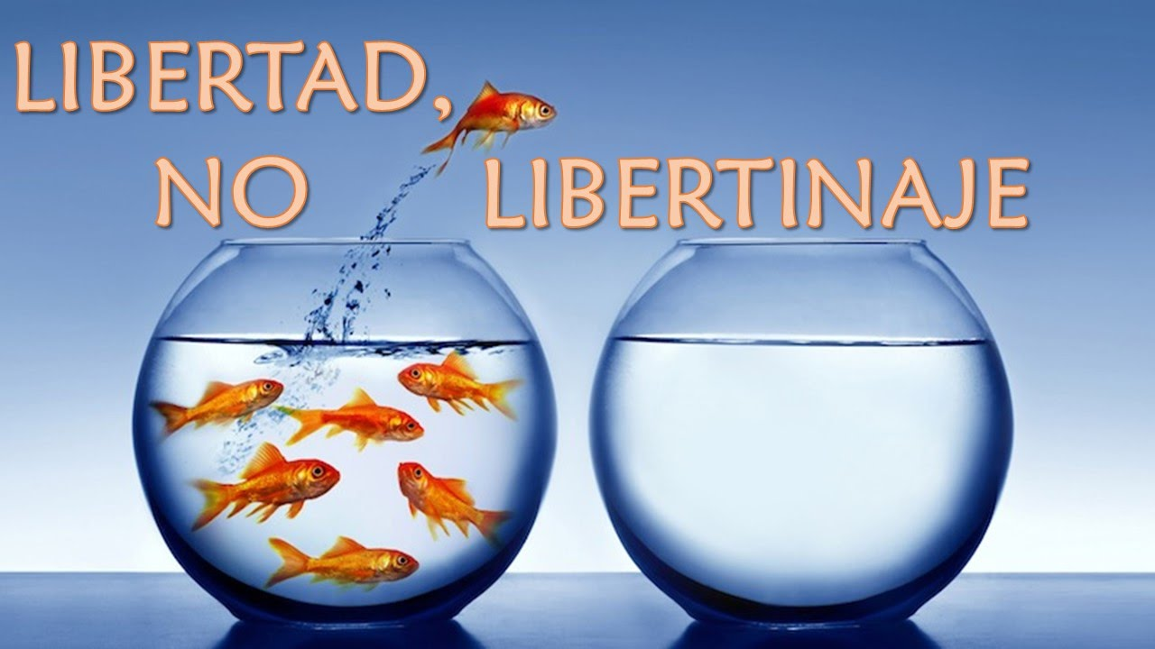 Libertad vs Libertinaje